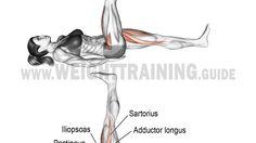 Lying alternating leg raise exercise