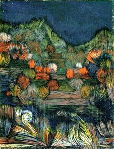 Paul Klee - Small Dune