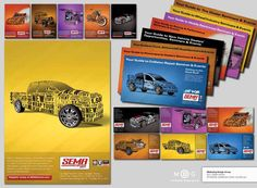 Enticing and colorful event promotion campaign.