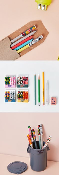Keep your pencil tips protected with the super fun & quirky Pop Art Pencil Cap Set! Writing and putting on eyeliner will never be the same again. ^.~*