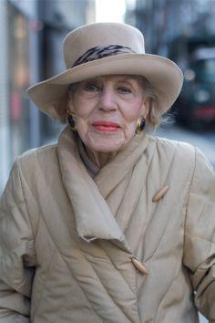 100 Year Old Elise Relflects Upon a More Elegant Past - 'I miss elegance.'