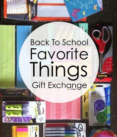 Back to School Favorite Things Teacher Gift Exchange 2015 - Stop by to see this amazing project connecting over 500 teachers!