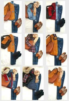 Boyfriend Jeans - Fall wardrobe capsule, Fall clothes, Fall outfits