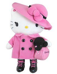 Hello Kitty Momoberry Parisian Plush