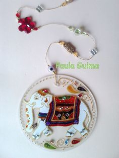 Mandala do Elefante Indiano