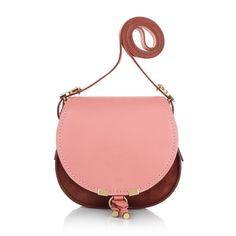 Favorite handbag for spring/summer: Chloé Marcie Porte Epaule S Saddle Magnolia Pink Cross Body www.fashionette.de