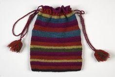 Eesti muuseumide veebivärav - kott ERM 15734 Folk Costume, Costumes, Drawstring Backpack, Bucket Bag, Bags, Fashion, Handbags, Moda, Dress Up Clothes