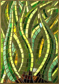 nz flax mosaic art