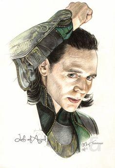 Loki of Asgard by TheDoThatGirl on DeviantArt