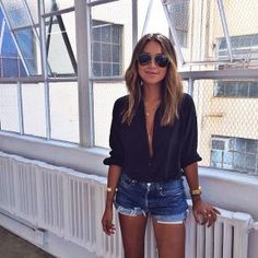 Short Outfits, Casual Outfits, Cute Outfits, Look Fashion, Fashion Outfits, Fashion Trends, Trending Fashion, Fall Fashion, Spring Summer Fashion