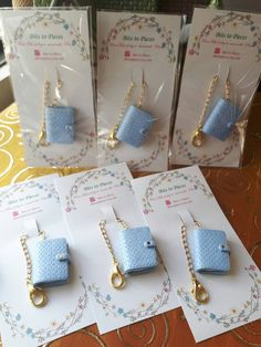 Perforated Ice blue kikki k as planner charm / by Bitstopieces