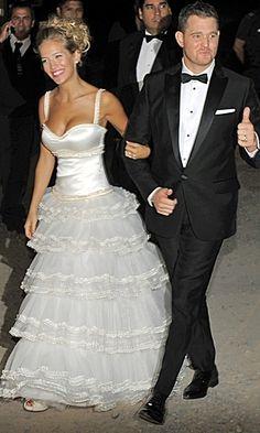 Michael Buble and Luisana Lopilato 2011 #Wedding