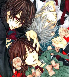 Vampire Knight,Kaname Kuran,Yuki Kuran,Zero Kiryuu