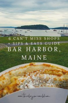 6 Can t Miss Shops a Sips Eats Guide to Bar Harbor Maine Find out more at Maine Road Trip, East Coast Road Trip, New England Fall, New England Travel, Bar Harbor Maine, Southwest Harbor Maine, East Coast Canada, Places To Travel, Places To Go