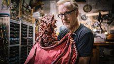 Adam Savage's Pet Dragon Puppet!
