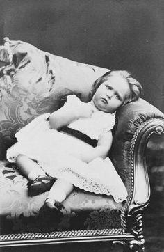 Princess Alix of Hesse: c. 1874 future Empress Alexandra.