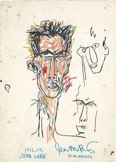 Jean-Michel Basquiat: John Lurie