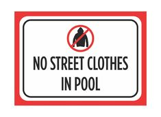 Do you know why street clothes are not allowed in public pools? Imagine what can it do to your pool. Check out why street clothes and swimming pools do not mix.  https://platinumpools.com/proper-swimming-pool-clothing/