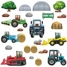 Fototapete Kinderzimmer Traktor | 95 Besten Kinderzimmer Bauernhof Bilder Auf Pinterest Farmers