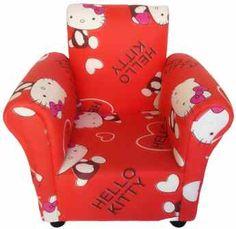Η γλυκιά Hello Kitty ανάμεσα σε πολλές καρδούλες γίνεται Hello Kitty Heart!Εκπληκτική παιδική πολυθρόνα με την αξιολάτρευτη γατούλα! Hello Kitty