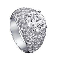 Exceptional Solitaire diamond ring Cartier