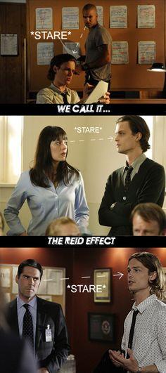 The Reid Effect... Love criminal minds!!