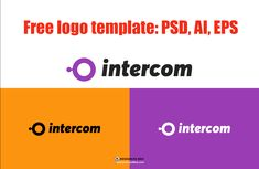 Intercom is a free generic logo template for Photoshoo and Adobe Illustrator. This free pack contains a logo in three formats: ai, eps and PSD. Free Logo Templates, Intercom, Photoshop Brushes, Free Stock Photos, Free Design, Design Projects, Adobe Illustrator