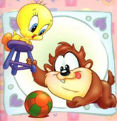 My favorite cartoon ever!the baby looney toons Looney Tunes Bebes, Looney Toons, Looney Tunes Characters, Disney Cartoon Characters, Looney Tunes Cartoons, Cute Characters, Disney Cartoons, Betty Boop, Buffy