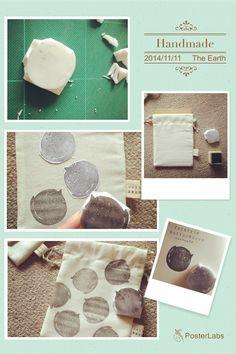 #handmade #bag  #cat #stamp  #ハンドメイド #バッグ #猫 #ネコ  #スタンプ #消しゴムはんこ  #巾着