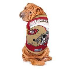 NFL San Francisco 49ers Pet Performance T-Shirt - X Small