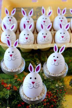 Hard Boiled Bunny Egg Tutorial