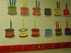 45 Best Classroom Birthday Charts Images Kindergarten Classroom