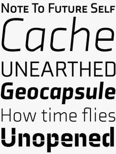 Axia font sample