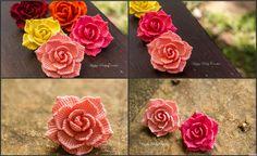 Rose Flower Applique