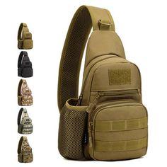 Men's Tactical Shoulder Bag Backpack Sling Chest Bag Assault Pack Messenger Bag is worth buying - NewChic Mobile