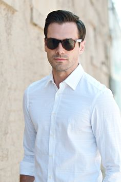 Never underestimate the efficacy of a white button down.