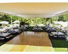 Montaje en exterior con carpa / Jardín de Cortés / Jardín para boda / Morelos