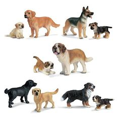 Schleich Dogs Complete Set (I had some of these.