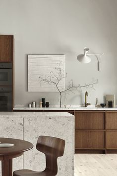 The best Kitchen Inspiration for 2020 - Nordiska Kök - Modern Kitchen Design, Modern Interior Design, Interior Design Kitchen, Interior Architecture, Nordic Kitchen, Home Decor Kitchen, Wooden Kitchen, Kitchen Dining, Shaker Kitchen