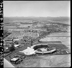 The Las Vegas Strip circa 1968.