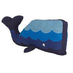 Sea Life Whale Kids Pillow | Company Kids