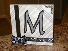 Nice monogram for home or bridal gift
