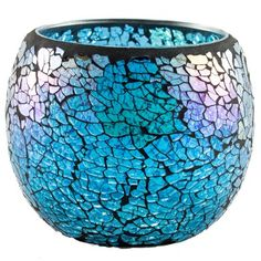 Beautiful Candles, Glass Candle Holders, Scented Candles, Moroccan, Mosaic, Room Decor, Blue, Indoor, Inspiration