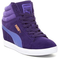 PUMA Classic Wedge Sneaker (64 AUD) ❤ liked on Polyvore