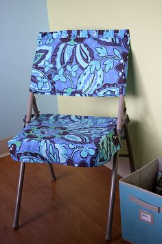 Folding chair cover, Pattern and Directions