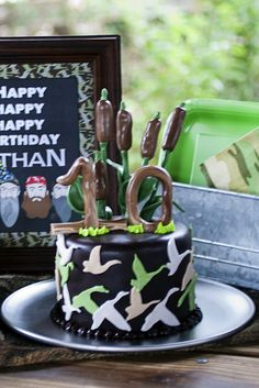 "Photo 8 of 14: Duck Dynasty / Birthday ""Duck Dynasty Paintball 10th Birthday"" | Catch My Party"