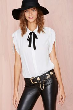 Nasty Gal Mod Mode Top