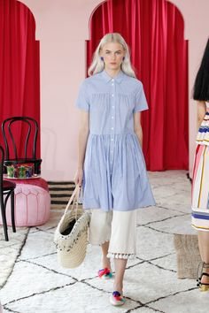 Kate Spade New York - Spring 2017 Ready-to-Wear *shirt silhouette