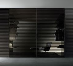 Rimadesio 'Stripe' sliding door system