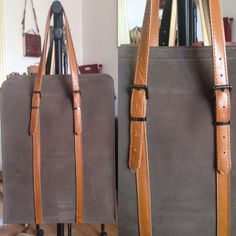 Leather Tote by Mihaela Zvinca